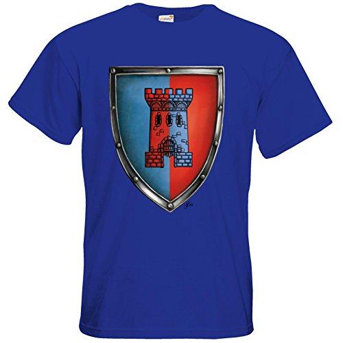 getshirts - Das Schwarze Auge - T-Shirt - Die Siebenwindküste - Wappen - Abilacht Royal Blue