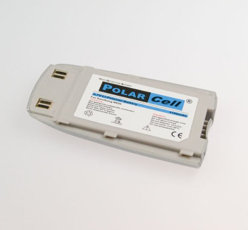 NFE² Edition Polarcell Lithium-Polymer Akku - 1100mAh - für Samsung SGH-N620 silber