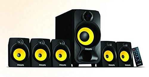 ed63568530e Buy Philips SPA-3800B Wireless Bluetooth Speaker (Black) Online at ...