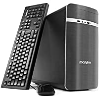 Zoostorm 7270-3040 Desktop PC (Intel Core i7-4790 Processor, 16 GB RAM, 3 TB HDD) - Grey