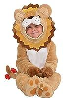 Il bambino può regola la giungla in questo adorabile costume da leone. Il nostro BABY Lion Costume presenta un fronte peluche cappuccio con orecchie di peluche dettagliate e criniera in feltro. La coda del Leone peloso rilascio tuta ha chiusu...