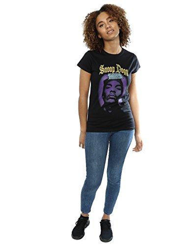 Snoop Dogg Femme Beware Of Dogg T-Shirt Noir