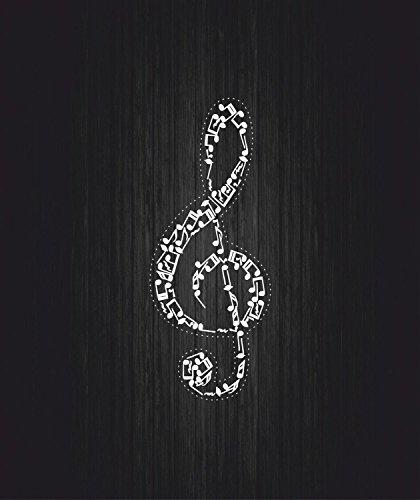 Preisvergleich Produktbild Aufkleber/Sticker für Auto, Motorrad, Violinschlüssel, Musikinstrument Note R3
