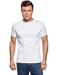 oodji Ultra Homme T-Shirt Basique (Lot DE 2)