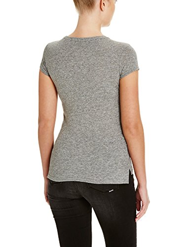 Bench Damen T-Shirt Synchronization Schwarz (Jet Black Marl BK014X)