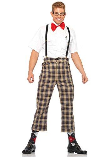 Leg Avenue 85033 - Naughty Nerd Männer Kostüm, Größe S ()