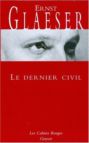 Le Dernier Civil [Pdf/ePub] eBook