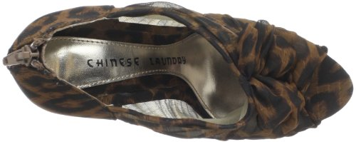 Chinese Laundry Haylie Femmes Toile Chaussures Pompes Eastern Leopard