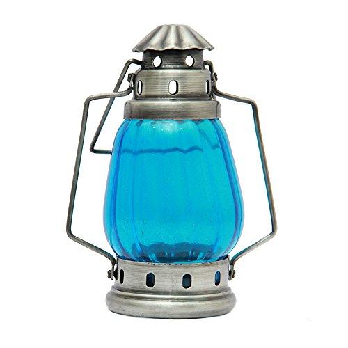 Black Metal Red Lamp - Lamp 1, T-light 1, Decorative Lamp, Home Décor Items, Antique Lanterns, Diwali Home Décor - DIWALIGIFTS112920