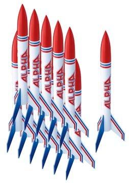 Estes Alpha Rocket Bulk Pack (Pack of 12)