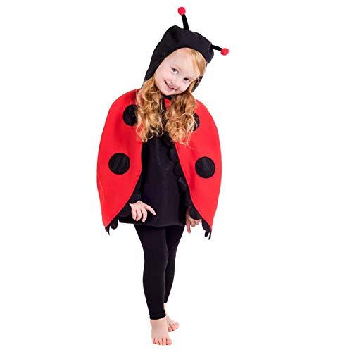 Insekten Kostüm Kids - Fun Shack FNK4479-102 Kostüm, Unisex Children, marienkäfer, Größe S