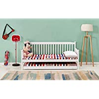 KOSY KOALA SHAKER STYLE WHITE OR GREY 3FT SINGLE DAYBED WITH UNDER DAY BED GUEST TRUNDLE, MATTRESSES OPTION AVAILABLE