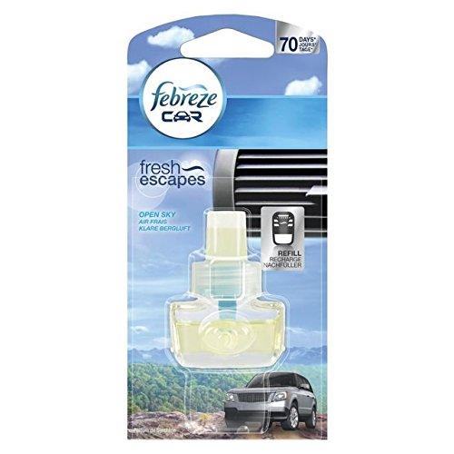 febreze 4084500255135 Car Fresh Escape KFZ-Lufterfrischer Nachfller