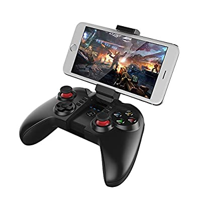 Docooler Original ipega PG-9068 Tomahawk Wireless Bluetooth Game Controller Gamepad for Win XP Win7 8 TV Box iPhone iPad iOS System Samsung Galaxy Note HTC LG Android Tablet PC MAC OSX