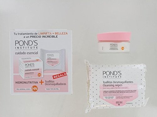 Pond's Crema Hidratante + Toallitas-20 50 ml