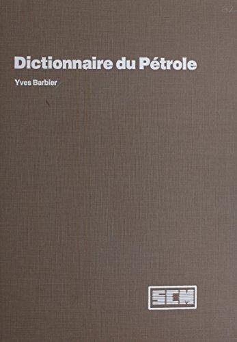 Dictionnaire du ptrole