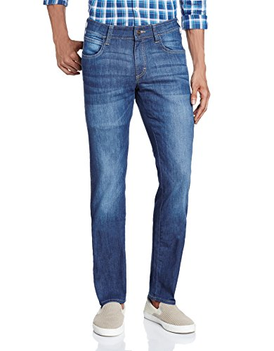 Wrangler Men's Skanders Slim Fit Jeans(8907222774493_W21824W22990_30W x 33L_Rinse)