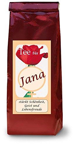 Jana-Namenstee-Frchtetee