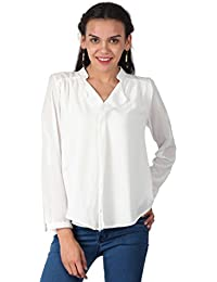 Remanika White color Cotton Top for womens