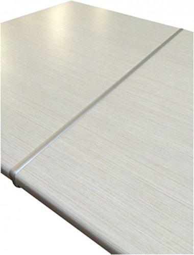 Küchen-Preisbombe Aluminium 28 mm Arbeitsplatten Verbindungsschiene Schiene für gerade Verbindung