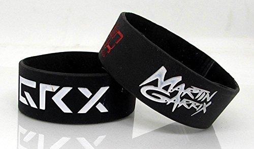 Benjoy Martin Garrix Wrist Band for KTM Duke 250 (Black) - Pack of 2