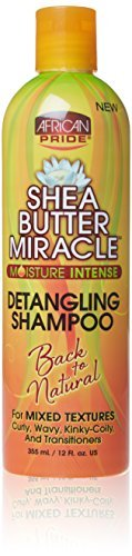 African Pride Shea Butter Miracle Detangling Hair Shampoo 355 ml by AFRICAN PRIDE