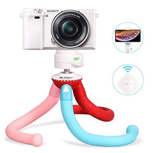 Fotopro Handy Stativ Flexibel Kamera Stativ für Smartphone UFO Rainbow Ministativ Tripod für iPhone, Samsung Galaxy, Huawei, Xiaomi, DSLR, Canon, Nikon