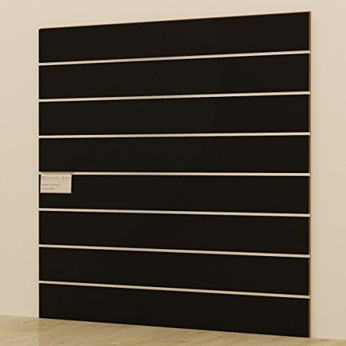 Panels DOGATO 120x 120cm schwarz Möbel Shop Begehbarer Kleiderschrank vielseitig und funktional