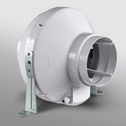 En Línea Ventilador de conducto de extractor sala de diámetro 4