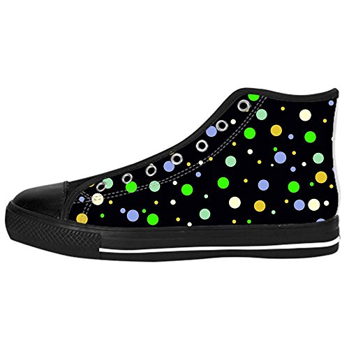 Dalliy polka dots Kids Canvas shoes Schuhe Lace-up High-top Footwear Sneakers A