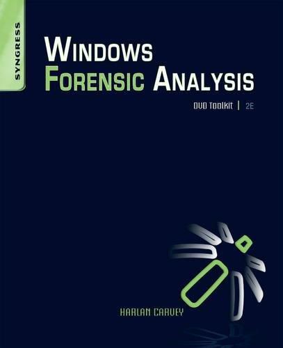 Windows Forensic Analysis DVD Toolkit