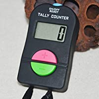 UIYU Electronic Digital Hand Tally Counter with LCD Screen, Mini Manual Clicker Add/Subtract Model for Golf Sports