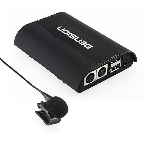 DENSION ICE>Blue IBL1V21 mit Universal-Mikrofon (Bluetooth Freisprecheinrichtung + Audiostreaming) für Seat / Skoda (Swing/ Bolero/ Amundsen/ Columbus) / VW mit CAN-Bus (RCD-310/510 & RNS-310/315/510)