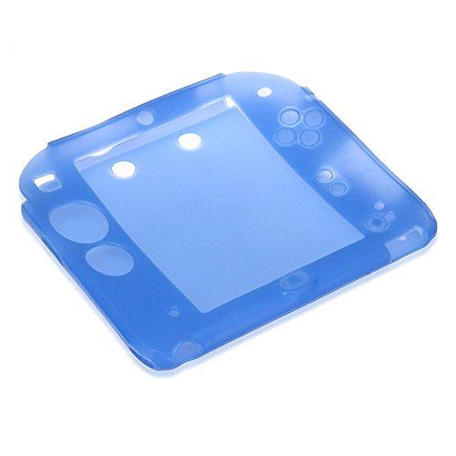 TOOGOOR Cubierta caja piel silicona protectora 2DS