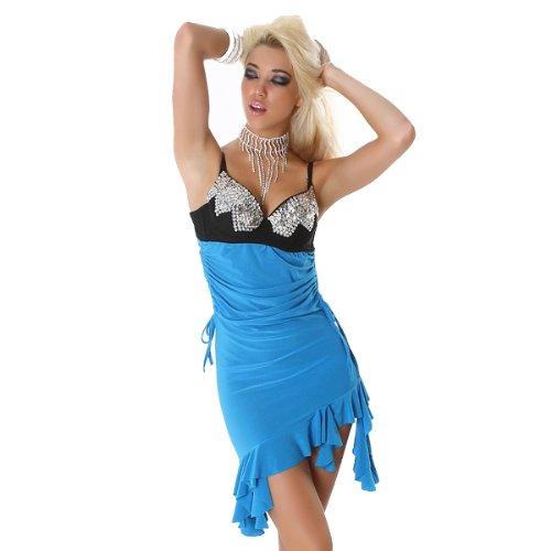 Young-Fashion -  Vestito  - Donna Blu