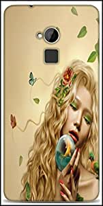 Snoogg Mother Nature 2661 Designer Protective Back Case Cover For HTC One-Max