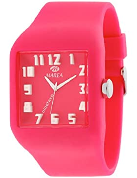 35507-7 Marea Silikon Uhr, Unisexuhr im 3D Optik