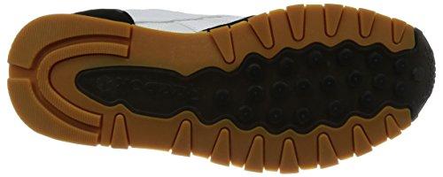 Reebok CL Leather Spp White Black Gum Sneakers - Scarpe Da Ginnastica Bianche Nere White