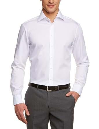 Jacques Britt Herren Businesshemd Custom Fit 20.950613-01, Gr. 39, Weiß (white)