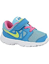 Nike Downshifter 6 (TD) - Zapatillas para niño, color azul / rosa / amarillo / blanco