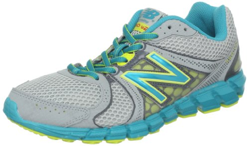 New Balance Nbw750bb2, Chaussures de Course Homme Silver with Green