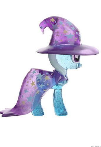 My Little Pony Clear Glitter Variant Trixie Lulamoon Vinyl Collectible by Funko