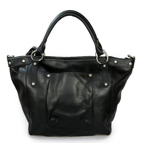 Cowboysbag , Sac à main pour femme Noir - Noir