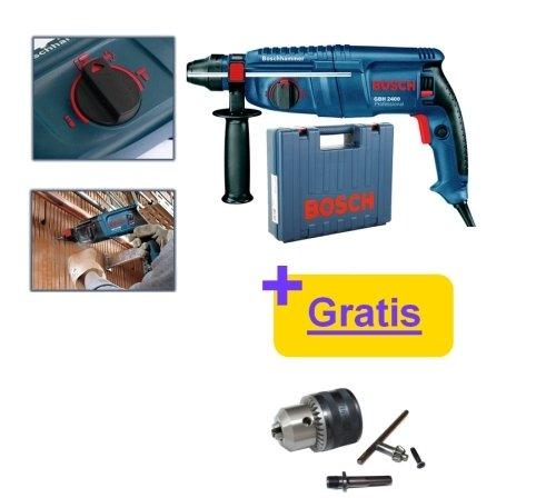 Trapano martello demolitore/Tassellatore 24mm 720W SDS Plus Bosch - GBH 2400 Professional