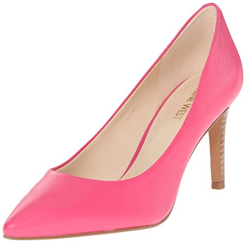 Nove in pelle occidentale Charly pompa Dress Pink