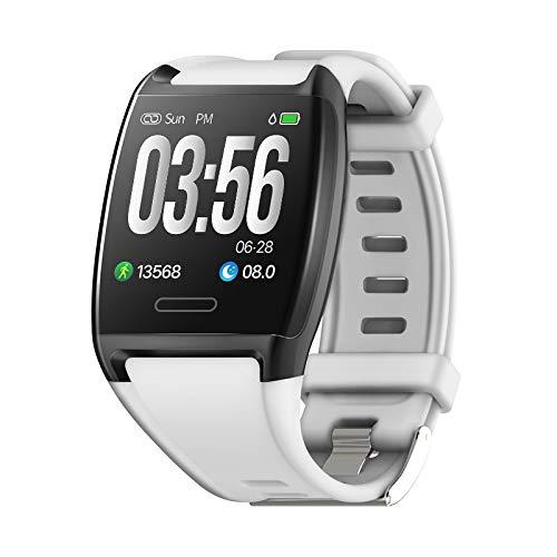 and, Wasserdicht IP67 Smartwatch Aktivitätstracker mit Pulsmesser 1,30 Zoll Farbbildschirm mit Schlaf-Monitor Kalorienzähler Blutdruckmonitor Fitness Tracker ()