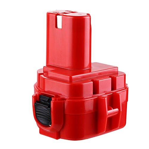 Preisvergleich Produktbild Odec Werkzeugakku 12V 3000mAh, Ni-MH Akku für Makita 1220 1222 1233 1234 1235 192598-2 192681-5 193981-6 638347-8 638347-8-2