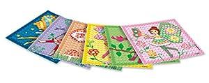 Play maíz 160278-Card Set Mosaic Dream Fairy, Juego de Manualidades
