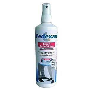 Pedexan Schuhdesinfektion zur Schuh-Innenpflege, Desinfektionsmittel gegen Bakterien, Pilze und Fußgeruch