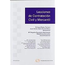 Lecciones de contratación civil y mercantil (Manuales) de Mª Angeles Egusquiza Balmaseda (11 ene 2012) Tapa blanda